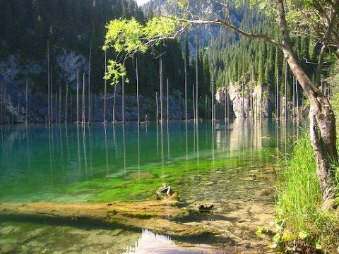 Lago Kaindy - (Kazajistán)